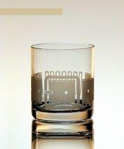 Dressat whiskeyglas