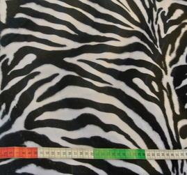 Velbor med Zebramönster i svart och vitt