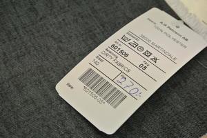 Durty Fabriks blå präglat jeans