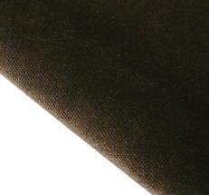 Mörk brun möbel sammet