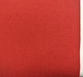 röd enfärgad lite grövre vävd