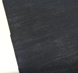 enfärgad blå lite grövre väv