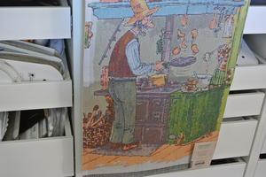 pettson och Findus  handduk från Ekelunds väveri