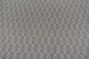 grå botten med vitt mönster