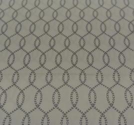 vit botten med grått mönster