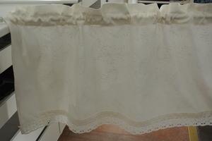 kinnamarks spirea vit med vitt mönster