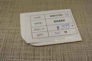 Shark rutvävd i guld