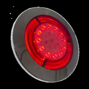 14372 Red eye LED Pyöreä Sumu/Takavalo