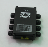 10056 elbox kompakt 180x116 svart Aspöck 24 V