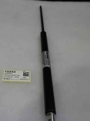 10343 gasfjäder 625mm/300N inkl. kolvskydd   (M10 gäng.)