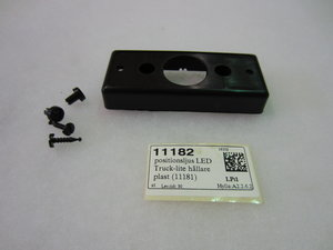 positionsljus LED Truck-lite hållare plast (11181)
