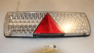 Takavalo LED 24V kolmiolla 7-kam  Vasen