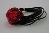 äärivalo kupu  LED punainen
