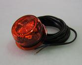 positionsljus LED orange helgjuten =>gummiarm