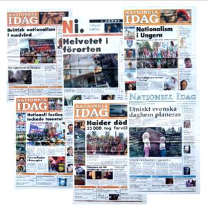 Nationell Idag-paket (10-20-50 st)