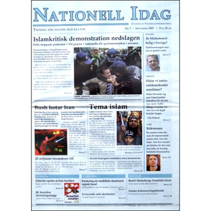 Nationell Idag nr. 7, 2007