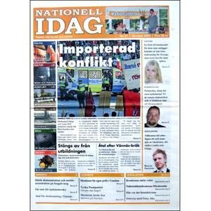 Nationell Idag nr. 21, 2009