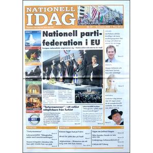 Nationell Idag nr. 27, 2009
