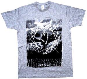 Brainwash - Time to act - Grå - T-shirt - 2
