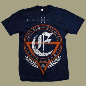 Moshpit - Defend Europe - Mörkblå - T-shirt