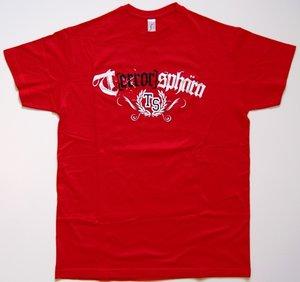 Terrorsphära - Röd - T-shirt