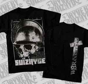 Dryve By Suizhyde - WAR - Svart - T-shirt
