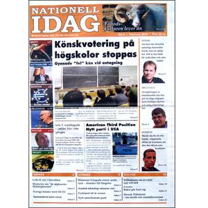 Nationell Idag nr. 5, 2010