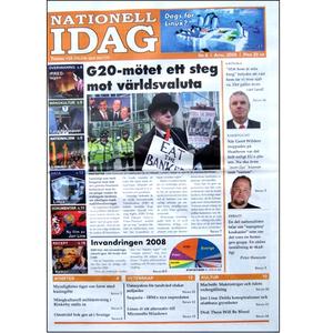 Nationell Idag nr. 8, 2009