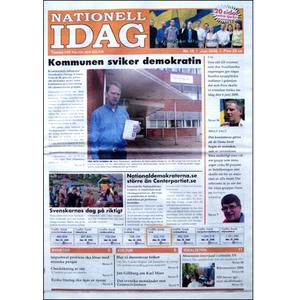 Nationell Idag nr. 10, 2008