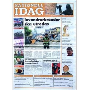 Nationell Idag nr. 18, 2009