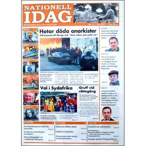 Nationell Idag nr. 19, 2011