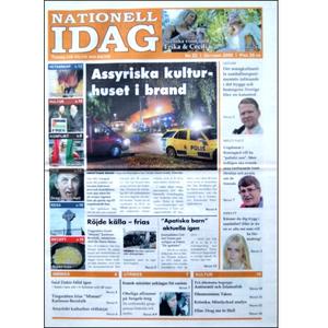 Nationell Idag nr. 22, 2009