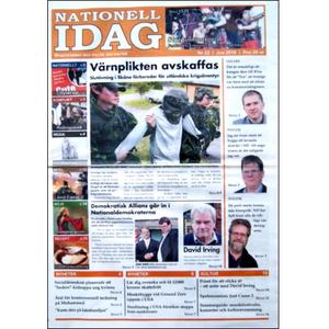 Nationell Idag nr. 22, 2010