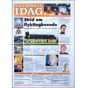 Nationell Idag nr. 29, 2009