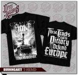 Burning Hate - Warmachine - Svart - T-shirt