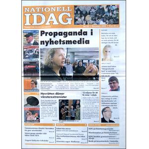 Nationell Idag nr. 32, 2009