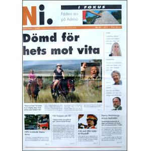 Nationell Idag nr. 36, 2011
