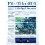 Folkets Nyheter nr. 2, 2003
