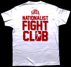 MMA - Fight club - Vit - T-shirt