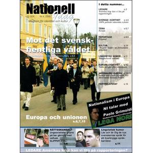 Nationell Idag nr. 4, 2003