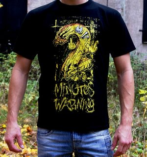 2 Minutes Warning - In your face - Svart - T-shirt