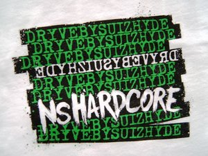 Dryve By Suizhyde - Hardcore - Vit - T-shirt