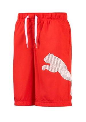 Badshorts Puma Logo Bermuda, junior, röd