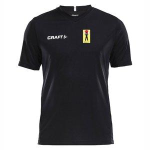 T-shirt Craft Squad Shotokan Center, svart, vuxenmodell