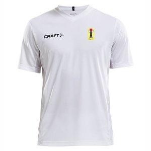 T-shirt Craft Squad Shotokan Center, vit, junior