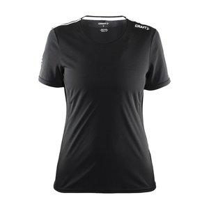 T-shirt Craft Mind SS, dam, svart 9920
