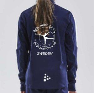 Träningströja Craft Progress ½-Zip, Bjuv/Helsingborg Drill, junior