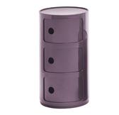 Lila Componibili 3 lådor 32 cm diam.