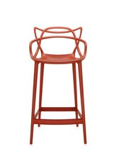 Masters Stool Bar Rust Orange