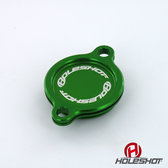 Lock till oljefilter KXF 250 05-> Grön